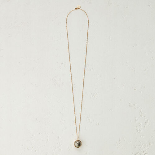 Necklace with natural stone -  - MAJE