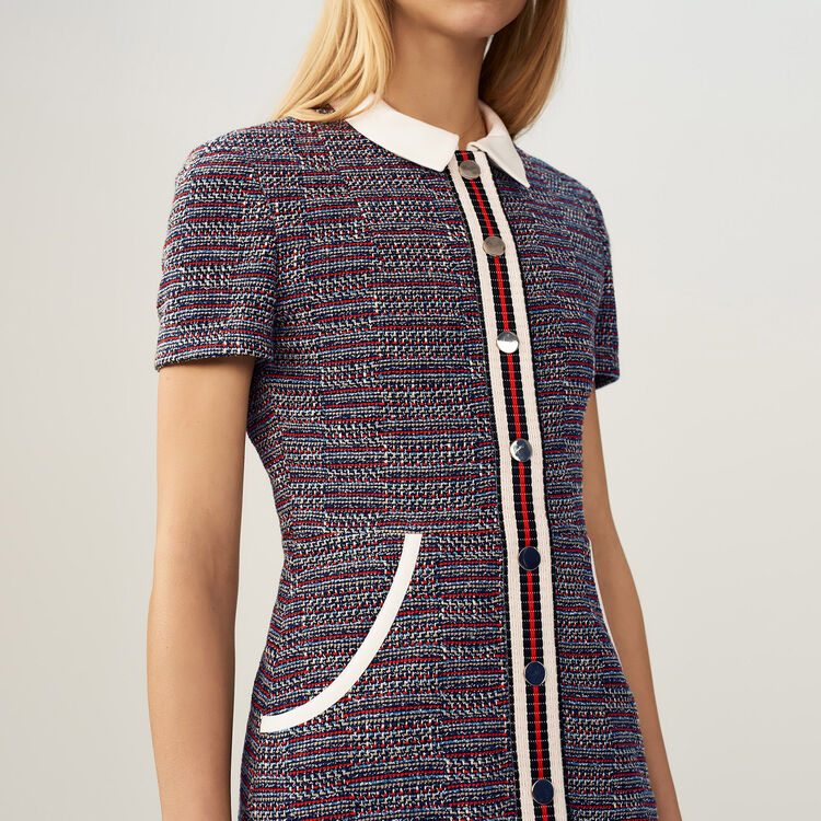 Tweed dress : staff private sale color Jacquard