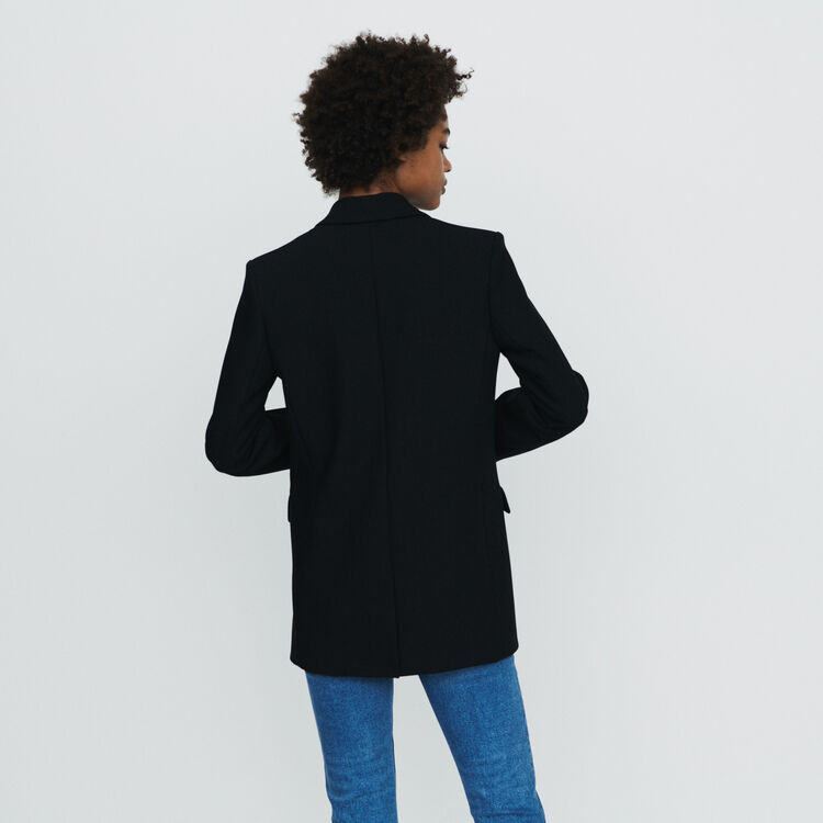 Suit jacket with buttons : Blazers color Black 210