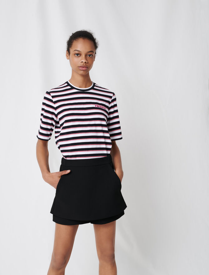 Short-jupe en crêpe - Skirts & Shorts - MAJE