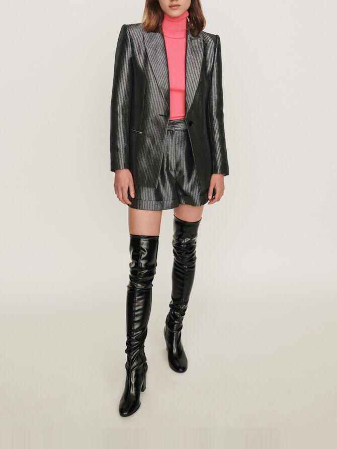 Lurex jacket - Blazers - MAJE