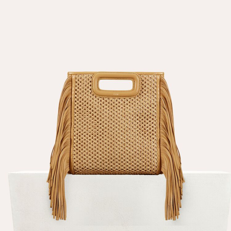 Fringed bag : staff private sale color NATUREL