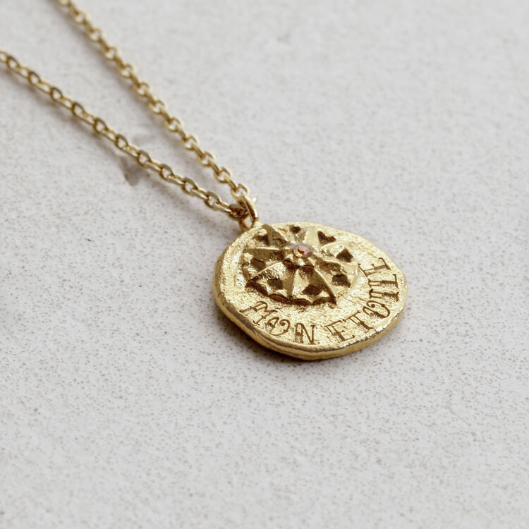"""Necklace  """"Mon étoile"""" in gold plated : Jewelry color GOLD"""