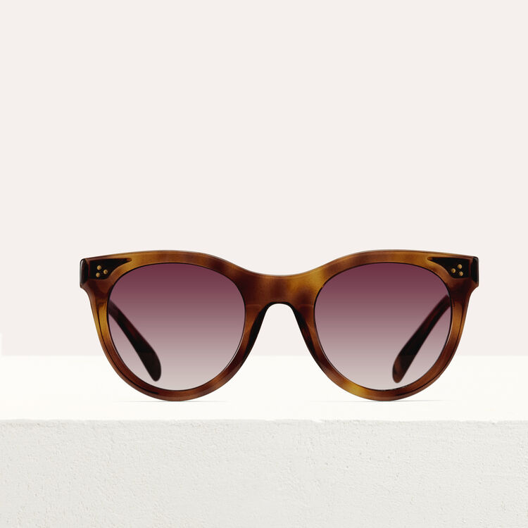 Acetate sunglasses : Eyewear color Pink