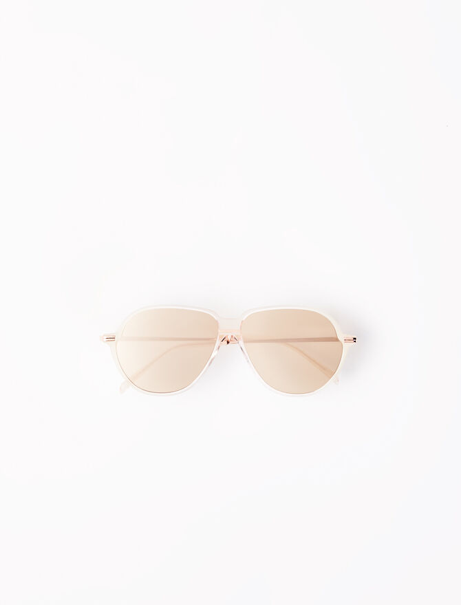 Acetate aviator sunglasses - Eyewear - MAJE