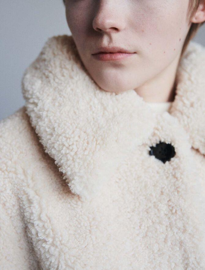 Faux fur coat -  - MAJE