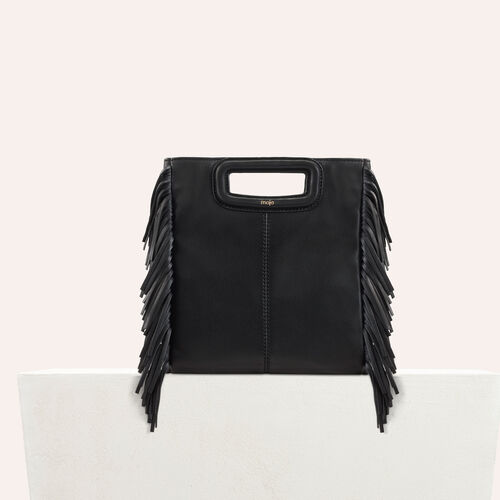 Lambskin M bag : staff private sale color Black 210