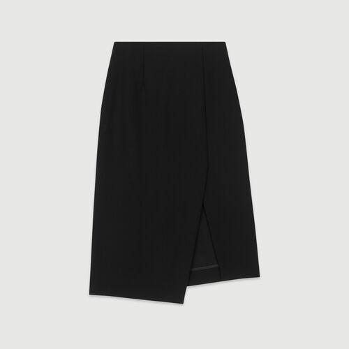 Pencil skirt : Skirts & Shorts color Black 210