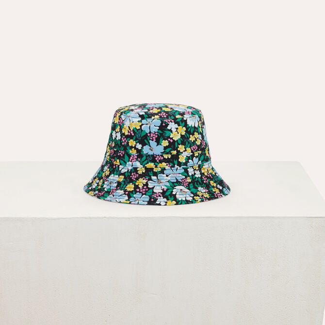 Fisherman's hat in floral printed cotton - See all - MAJE