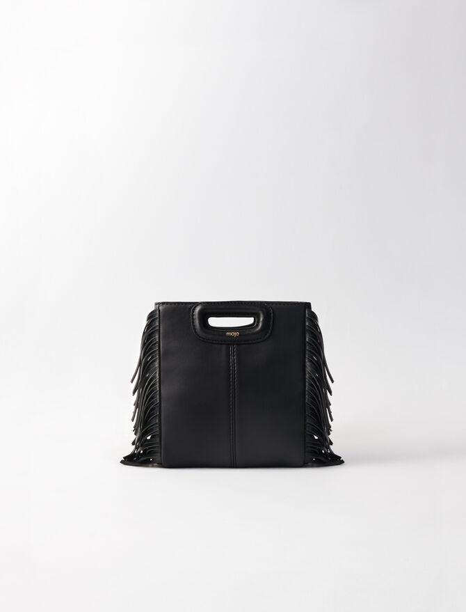 Mini leather M bag - M Mini - MAJE