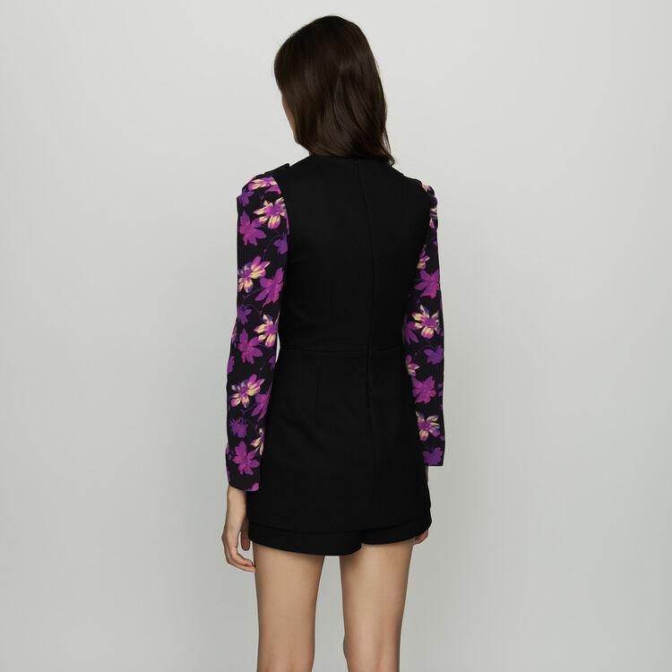 Sleeveless playsuit : Skirts & Shorts color Black 210