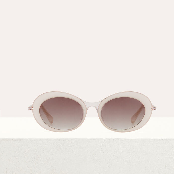 """""""Butterfly"""" sunglasses : Eyewear color Pink"""