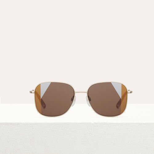 Metal sunglasses : Eyewear color Multico