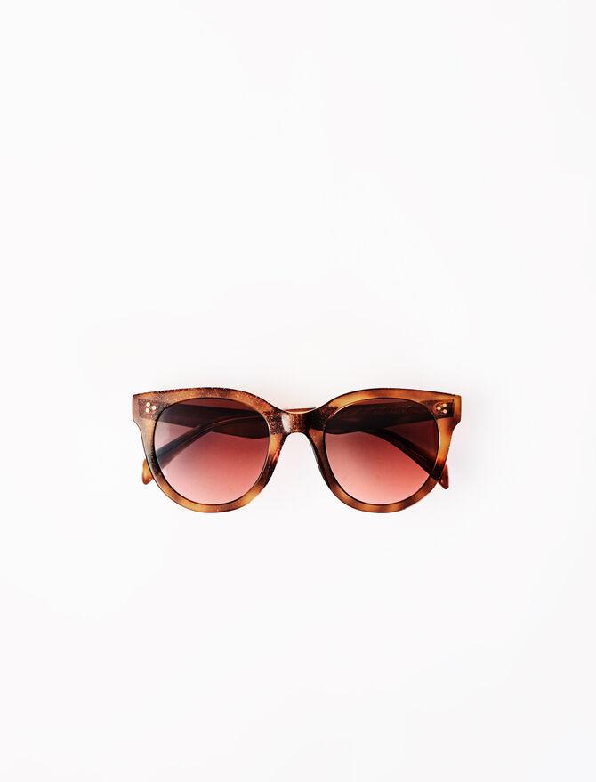 Round acetate sunglasses - Eyewear - MAJE