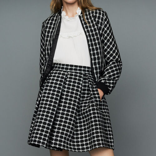 Plaid teddy : Jackets color CARREAUX