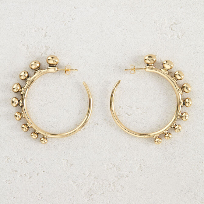 "Hoop earrings ""Arty"" - See all - MAJE"