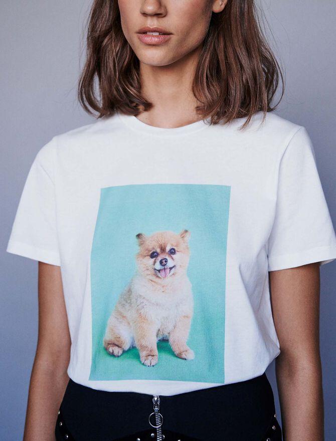 Printed t-shirt -  - MAJE