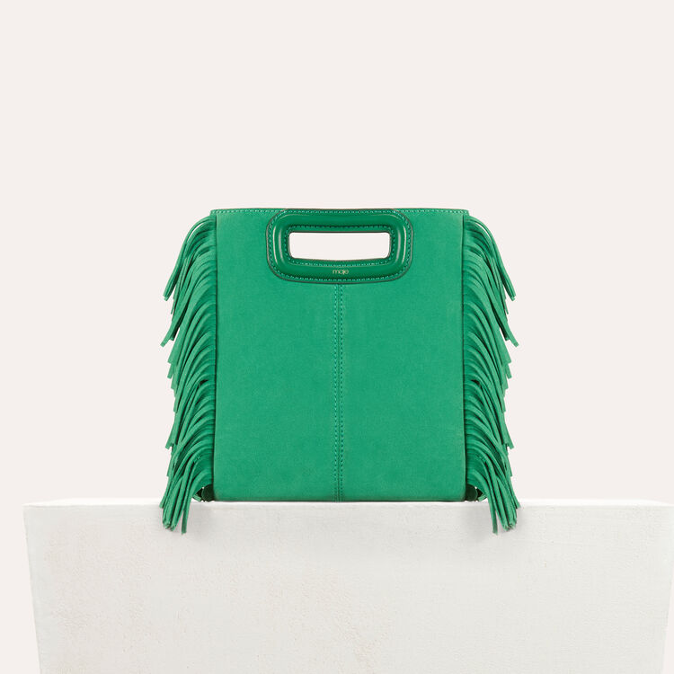 Suede M bag : staff private sale color Emerald