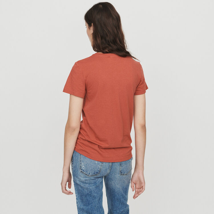 Short sleeve T-shirt : T-Shirts color Terracota