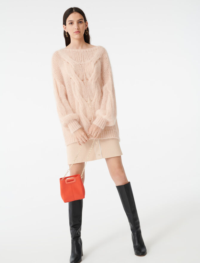 Cable knit sweater - Pullovers & Cardigans - MAJE
