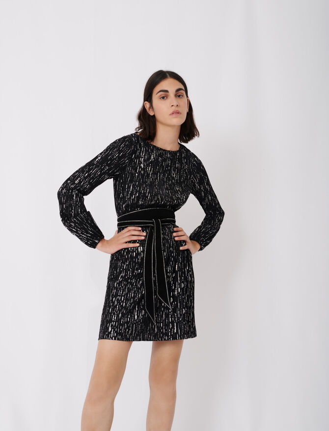 Short pleated dress - See all - MAJE