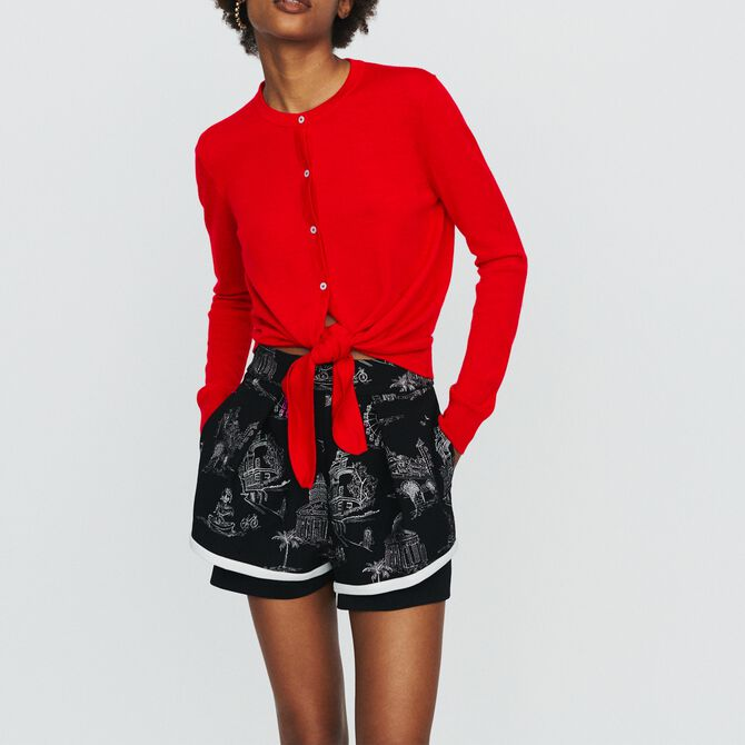 Knotted cardigan - See all - MAJE