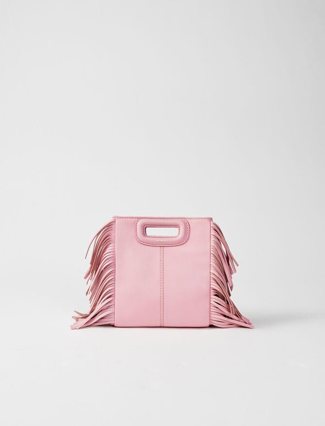 Leather mini M bag - M bags - MAJE