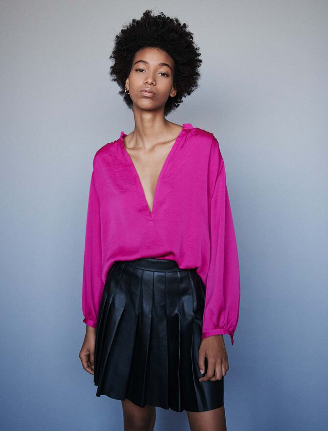 Satin top - Best Sellers - MAJE