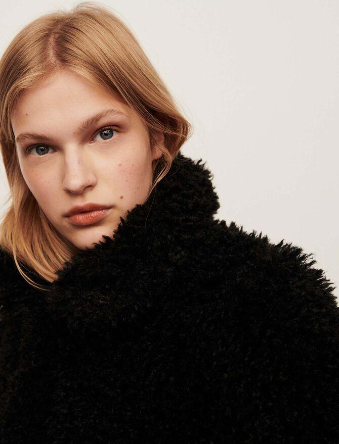 Faux fur coat - Jackets & Blazers - MAJE