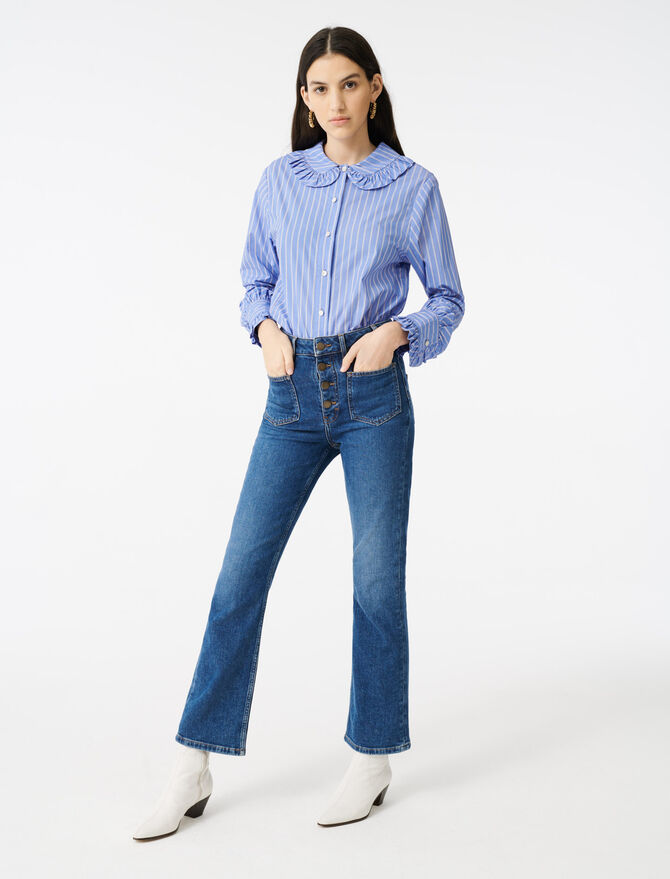 Jeans with pockets - Trousers & Jeans - MAJE