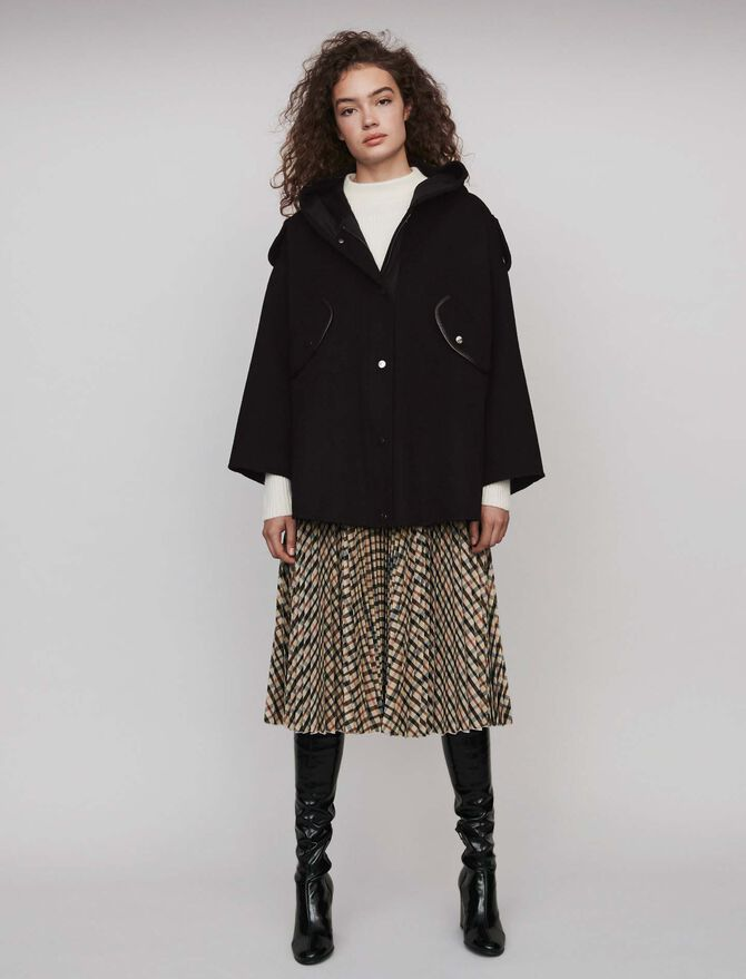 Double face cape coat - Coats & Jackets - MAJE