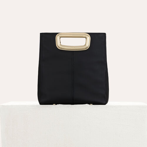 M Mini Skin bag in leather : M Skin color Black 210