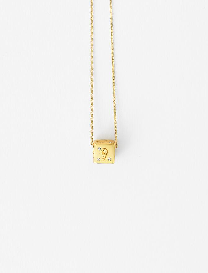 Numbers 6 & 9 dice necklace -  - MAJE