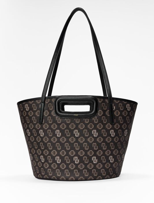 Clover canvas M tote : New collection color Brown
