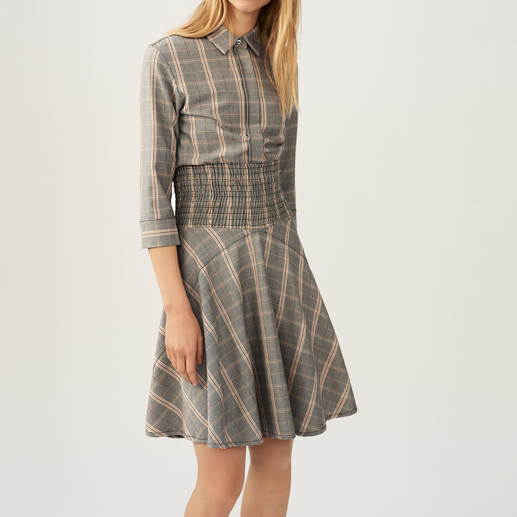 Checkered dress : staff private sale color CARREAUX