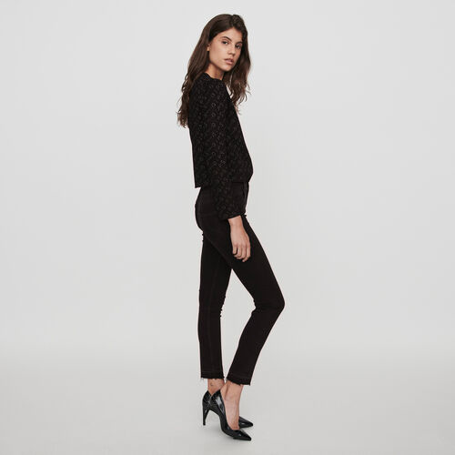 Basic skinny jeans : Winter collection color Anthracite