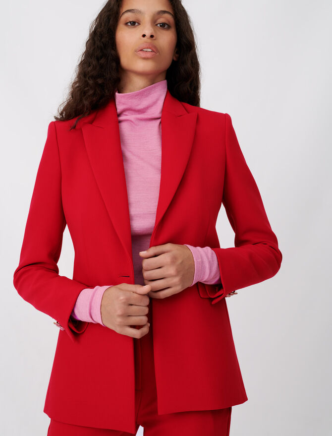 Cinched waist jacket - 40 - MAJE