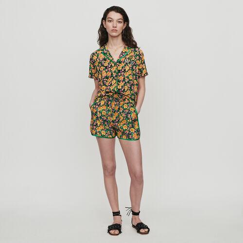 Pajama-style printed shirt : Shirts color Print