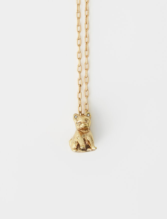 Gyps animal necklace -  - MAJE