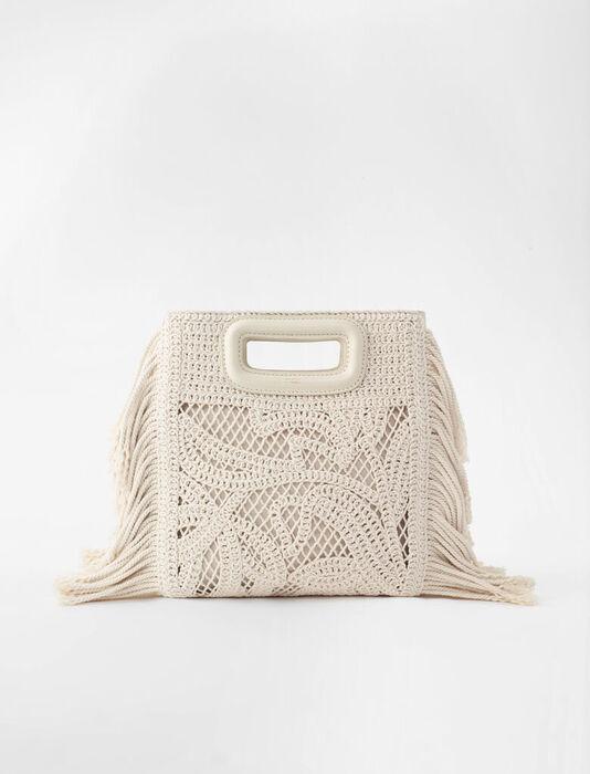 Macramé M bag : All bags color Off White