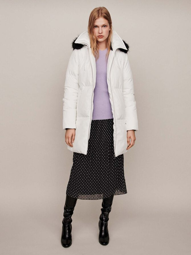 Hooded puffer - Jackets & Blazers - MAJE