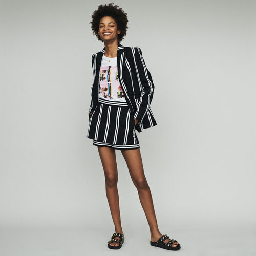 Striped tailor jacket : Blazers color Stripe