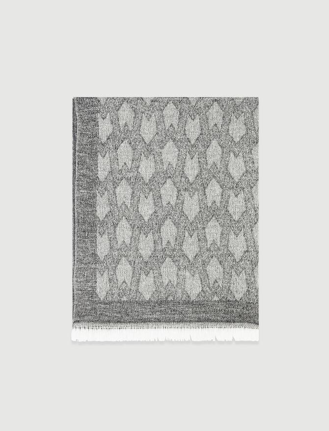 MM print lightweight shawl -  - MAJE