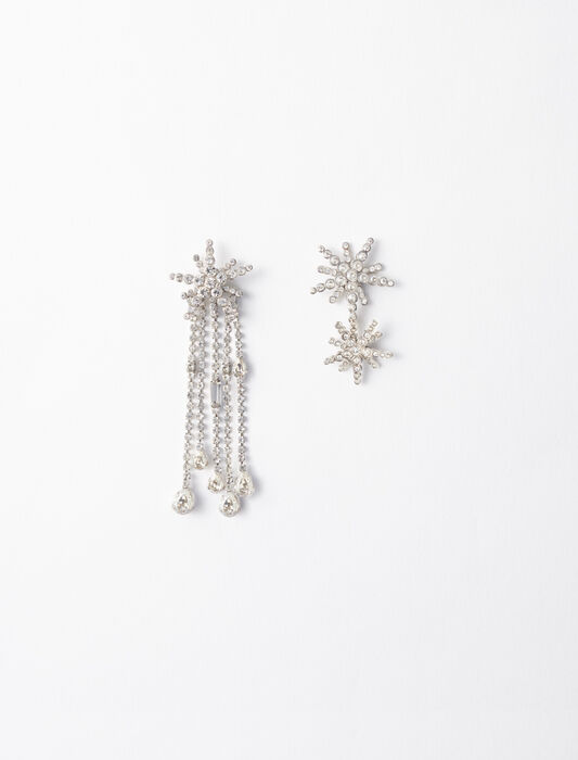 Star strass-earings : Gifts Guide color Crystal