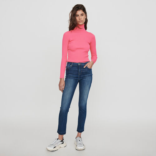 Basic skinny jeans : Winter collection color Blue