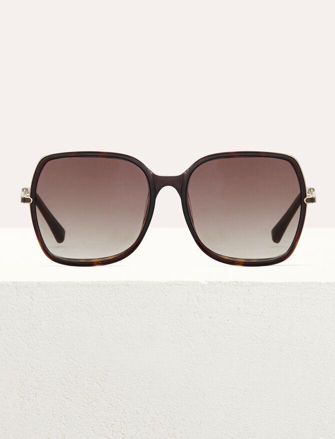 Lunettes de soleil en acétate et métal - Eyewear - MAJE