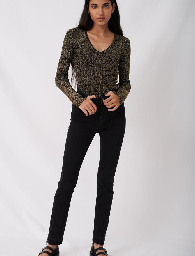 Basic skinny jeans - Eco-friendly - MAJE