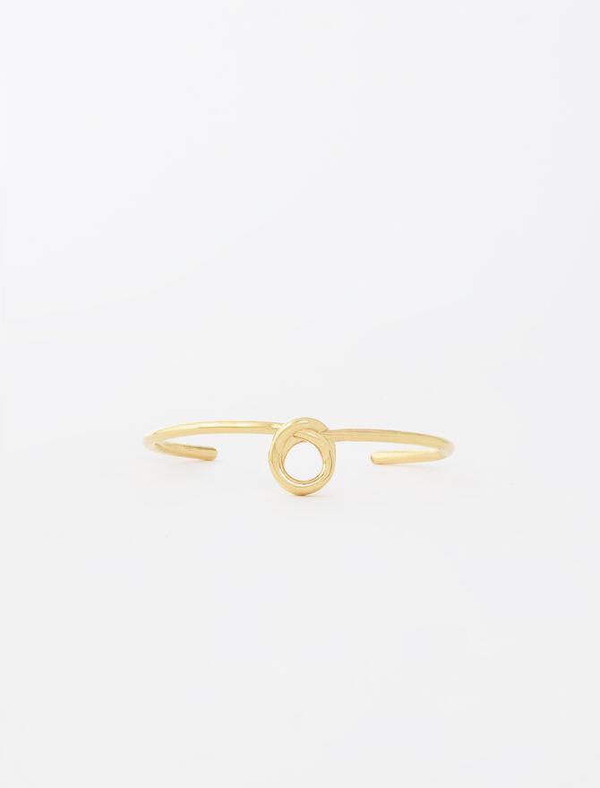 Bangle-style bracelet with knot - Jewelry - MAJE