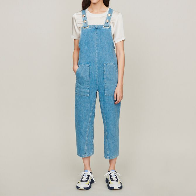 Denim jumpsuit - Trousers & Jeans - MAJE