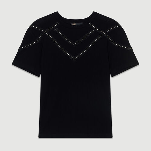 Studded Tshirt : Summerparty-Tout_voir-DE color Black 210